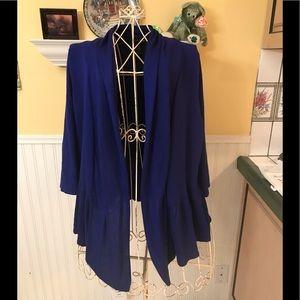 INC Gorgeous blue sweater Sz XL